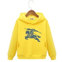 Wholesale product organic for sale - Group buy Kids Brand Hoodies Children s Clothes New Product Retro Boys Even Caps Cartoon Printing In Large Child Children Tide Of Clothing