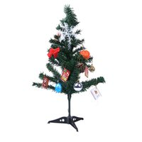 Wholesale christmas decorations resale online - Christmas Decorations For Home Table Christmas Tree Ornaments Xmas Tree New Year Gift Merry Decoration OR26
