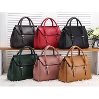 marka çanta kadın büyük toptan satış-Yeni Moda Çanta Kadın Çanta Bayanlar Omuz Çantaları Deri Çantalar Ünlü Marka Büyük Tasarımcı Crossbody Tote çanta