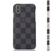 estuches para celulares al por mayor-Cajas del teléfono del diseñador del cuero de la PU de la moda de lujo para iPhone X XS MAX XR 6S 6 7 8 Plus Proteger Shell caso del teléfono móvil contraportada