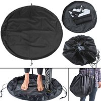 Wholesale suit bags for sale - 50cm Surfing Wetsuit Diving Change Bag Suit Mat Waterproof portable floding Carry Pouch Water Sport Swimming Accessories storage bag FFA1410