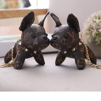 Wholesale toy dogs for children for sale - Group buy 15cm Cute Dogs with Box Plush Toys of Backpack Car Handbag Pendant High Quality for Girls Kids Children Birthday Gifts SH190913