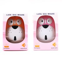 Wholesale wireless air mouse for pc for sale - Group buy LUCK DOG MOUSE Portable Wireless Mouse Mice For Computer PC Laptop Gamer Buttons Wireless Mouse USB Receiver Air Cordless