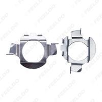portalámparas de xenón al por mayor-2x Car H7 HID Xenon Bulb Adapter Holder para Volkswagen Bora Bulb H7 HID Bulb Base Retainer Clip # 5553