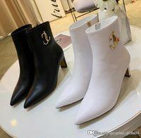 botas de tornozelo venda por atacado-New Mulheres Minori 85 botas de couro no tornozelo das Mulheres Ankle Boots Luxury Designer Botas Moda Botas Top Tamanho Qualidade 35-40