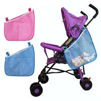 armazenamento guarda-chuva venda por atacado-Alta Qualidade Baby Stroller Side Hanging Bag Umbrella Bag Side de suspensão Cesta de armazenamento Storage Cart Cesta