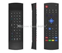 Wholesale remotes for sale - Group buy 2 GHz in Wireless Keyboard MX3 Air Mouse Remote Controller Somatosensory IR Learning Axis For MX3 MXQ M8 M8S S905 STB Android TV BOX