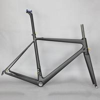Wholesale light frame bikes resale online - 2020 Super light Carbon Fiber road bike Frame T1000 Bicycle Carbon Frame FM686 chinese carbon road frame Accept custom paitnign