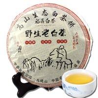 ingrosso fusion di tè bianco-Fuding White Tea 350g di alta montagna vecchia torta bianca selvaggia del tè Cibo verde sano Gongmei Shoumei Tea