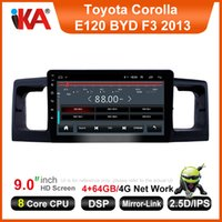 Wholesale touch screen gps for toyota for sale - Group buy iKA inch Android9 GB Car multimedia MP5 player for Toyota Corolla E120 BYD F3 Auto Radio CAR GPS navigation Built in DSP G Wifi