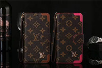 Wholesale bumpers iphone dhl online – custom Monogram Leather Flip Wallet Bumper Phone Case With Hand Rope For Iphone XS Max XR X Plus Cellphone Cover With Card Slot DHL