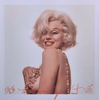 Wholesale famous impressionist paintings for sale - Group buy BERT STERN quot MARILYN MONROE THAT FAMOUS SMILE quot Home Decor Handcrafts HD Print Oil Painting On Canvas Wall Art Canvas Pictures