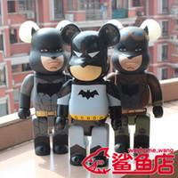 figura de batman nave libre al por mayor-Kaws 28cm 400% Bearbrick Cos Knightmare Batman Figura de acción Modelo coleccionable Juguetes calientes Cumpleaños Regalos Muñeca PVC Nuevo Arrvial Envío gratis
