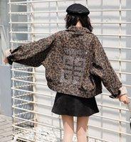 gestickte blazer großhandel-19ss Frauen Harajuku Pailletten Bestickte Baseballjacken Dünne Jacke Stickerei Hemd Blazer Für Damen Windjacke Mäntel