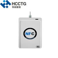 lector de etiquetas al por mayor-Mini PC-Link Android Mini ISO 14443 OEM Etiqueta sin contacto RFID USB NFC Lector de tarjetas inteligentes Escritor ACR122U
