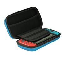 cajas de juegos nintendo al por mayor-2019 venta para Nintendo Switch Game Bag estuche rígido EVA shell de alta calidad portátil que lleva bolsa protectora bolsa