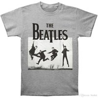 fotos de hombres grandes al por mayor-Camiseta Beatles Heather foto para hombre de los Beatles XX-Large Heather Rockabilia