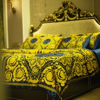 Wholesale cover quilts for sale - Group buy 100s Cotton Luxury Design Brand Bedding sets king size Quilt cover pillow case queen size duvet cover designer bed comforters sets