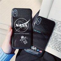 iphone artı aydınlatma çantası toptan satış-IPhone 8 Artı X XS Max XR 3D Işık yağ kabartma Telefon Kılıfı Için iPhone X 8 7 6 SPlus TPU Kapak