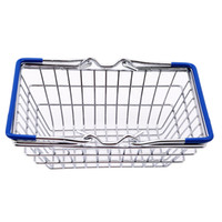 Wholesale toy supermarket shop for sale - Group buy High Quality MINI Supermarket Shopping Cart Kids Toy Intelligence Growth Toy Jewelry Basket