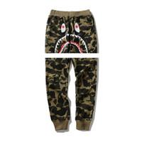 teenager mann hose großhandel-2018 New Camouflage Ape Pants Herren Freizeithosen Justin Bieber Teenage Cartoon Prints Dünne Hosen Hosen Angst vor Gott Billig Verkauf