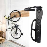 kleiderbügel großhandel-Fahrradwandhalter-Einfassungs-Fahrrad Zeige Aufhänger Berg Wand befestigter Fahrradaufbewahrung Haken-Zahnstangen-Fahrrad-Zubehör Ständer