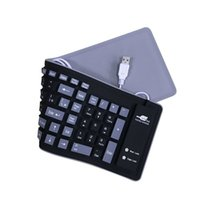 Wholesale silicone for computer for sale - Group buy Newly Portable Wired Silicone Keyboard Roll Up Waterproof Soft Keyboards for Computer Laptop PC