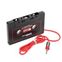 fita móvel venda por atacado-3.5mm Car Tape Converter Adaptador Cassete Para IPhone MP3 MP4 Computador Móvel CD Player AUX Interface de Carro Eletrônica Novo