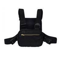 mini bolso de escalada al aire libre al por mayor-2019 Mini Men Chest Rig Streetwear Outdoor Sports Waist Bag Climbing Shoulder Bag Phone Money Belt Tactical Chest