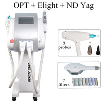 Wholesale ipl home hair removal device for sale - Group buy 3 IN Mchine ipl home equipment hair removal device ND Yag laser pigments Treatment pigmentation