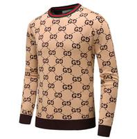 jackets for embroidering al por mayor-Hombres Rayas Negras Tejido de punto de lana Sudadera bordada Tigre Hombre Mujer Sudadera deportiva Abrigo chaqueta Diseños de jersey Rebeca