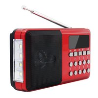 Wholesale best mp3 player for sale - Group buy Best Mini Portable Radio Handheld Digital Support FM USB TF MP3 Player Speaker Rechargeable