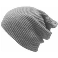 sombreros de lana blancos al por mayor-MISS M 2018 Negro Blanco Rojo Gris Ejército Verde Beanie Hat Invierno de lana de punto Skullies Hat Cap Casual Otoño Señoras hombres