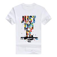 tshirt männer, die 3d drucken großhandel-Mens Designer T-Shirt 3d Brief Brief Sommer Tshirt Kurzarm T-Shirts hommes Männer kleiden