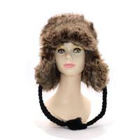 Caliente de gama alta de lujo sombrero de piel de los hombres sombrero de  piel de zorro Lei Feng gorra oreja gorra de piel sombrero necesario  freeshipping 60dc3269f92