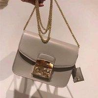 torba taklidi toptan satış-Tasarımcı 201 # 17cm küçük çanta 1: 1 imitasyon inek derisi Ünlü Crossbody çanta omuz çantası