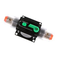 circuit breakers 2021 - 5- Sizes 10A 15A 60A 80A 100A In-Line Manual Reset Circuit Breaker Car Stereo Audio 12V 24V 32V