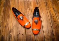 ingrosso eleganti scarpe oxford-2019 designer eleganti mocassini da uomo scarpe da uomo scarpe da uomo oxford scarpe da uomo partito Party Weeding Dress scarpa U44