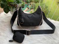 Wholesale handbags for ladies resale online - 2020 Deisigner shoulder bag for women Chest pack lady Tote chains handbags presbyopic purse messenger bag designer handbags canvas
