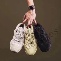 Wholesale new shoes mouse online - 2019 New Kanye West Descrt red desert mouse super moon yellow running shoes practical black men shoes outdoor sports shoes