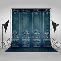 Wholesale background for digital photography resale online - Mehofoto Photography Backdrops Blue Wall Background Photo Background Digital Print Backdrops for Photo Studio Vinyl