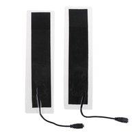 bel ısı yastıkları toptan satış-2 adet / grup USB 12 V 20 * 4 cm Plastik Sıcak Isıtma Isıtıcı Kış Sıcak Plaka Bel Ayakkabı Pad Isı Mat Yeni