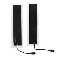 taillenwärmekissen großhandel-2 teile / los USB 12 V 20 * 4 cm Kunststoff Warme Heizung Winter Warme Platte Taille Schuhe Pad Wärmematte Neu
