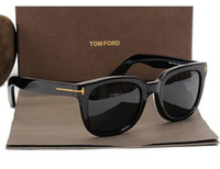 Wholesale male child fashion for sale - Group buy luxury top qualtiy New Fashion Tom Sunglasses For Man Woman Erika Eyewear ford Designer Brand Sun Glasses with original box