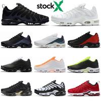 Nike Air Max Plus TN SE 2019 Ultra Plus Running Schuhe für Herren schwarz weiß gold Athletisch atmungsaktiv Designer Herren Turnschuhe Sport Sneakers