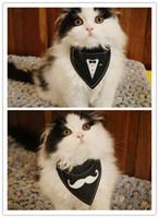 ingrosso sciarpa di nozze del cane-Nuovo stile fatto a mano cucciolo di cane cucciolo gattino sciarpa colletti festa di nozze colletto sciarpa bavaglino per gatto gattino S-XL