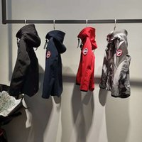 erkek çocuk ceket toptan satış-Çocuk Giyim Sıcak Polar Polar Ceket Kapüşonlu Çocuk Giysileri Su Geçirmez Rüzgar Geçirmez Bebek Erkek kız Ceketler 3-12Y Için Güz Bahar