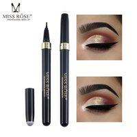 usine d'eye-liner achat en gros de-MISS ROSE structure de stylo eyeliner étanche stylo pointe astuce chic eyeliner imperméable à l'eau usine dector livraison gratuite HOT