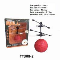 bola elétrica para crianças venda por atacado-10 modelos RC Drone Helicóptero Voando Bola Helicóptero Aeronave Levou Luz Piscando Até Brinquedos Indução Elétrica Toy sensor Crianças Crianças de Natal