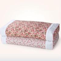 kore yastıkları toptan satış-Pamuk Karabuğday Kabuğu Yastık Boyun Bakım Yastık Kore Pastoral Küçük Çiçek Şekerleme Servikal Yastık Yetişkin